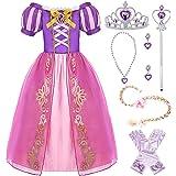 Hamanasu Rapunzel - Disfraz de princesa para niña