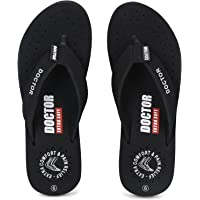DOCTOR EXTRA SOFT Women's Ortho Care Orthopaedic and Diabetic Feel Good Super Comfort Dr Sliders Flipflops and House…