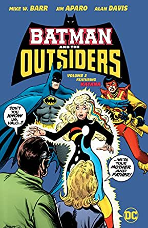 Batman And The Outsiders 1983 1987 Vol 2 Ebook Barr Mike W Davis Alan Aparo Jim Davis Alan Day Dan Willingham Bill Von Eeden Trevor Amazon Co Uk Kindle Store
