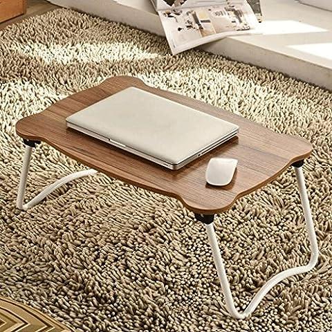GAOLILI Notizbuch Computer Schreibtisch Bett Mit Einem Klapptisch Schreibtisch Schreibtisch Lazy Student Schlafsaal Einfache kleine Tabelle Study Tables ( Farbe : C )