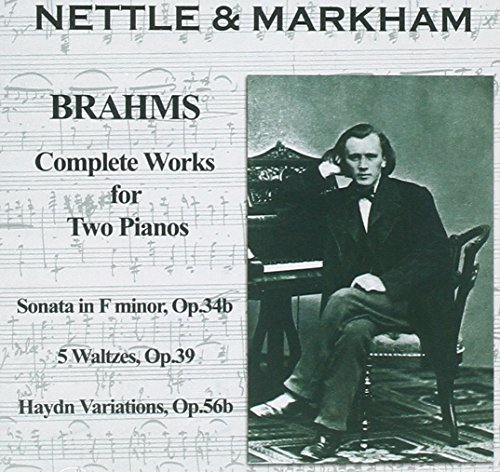 Complete Works for Two Pianos by Brahms (2011-08-09)