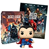Justice League 2 Steelbook Esclusiva AMAZON (Blu-Ray) + Poster + Funko Superman