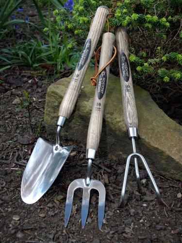 Spear & Jackson Traditional Grubber mit langem Griff, Edelstahl, 3 Zinken, 12 Zoll/30,48 cm