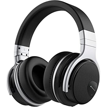 16b94941664 Mighty Rock E7 Active Noise Cancelling Headphones Wireless Bluetooth  Headphones Over Ear with Microphone Hi-