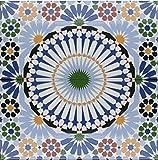 Restposten!!! 4x Keramikfliesen orientalische Fliesen wand Keramik Meknes 753_1 B-Ware Restposten