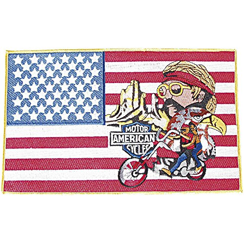 otor American Cycles - 08072 - Gr. ca. 25 x 15,5 cm - Patches Stick Applikation ()