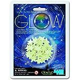 4M - Glow Mini Stars, decoración fosforescente (004M5221)