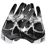 Nike Vapor Jet 4 American Football Handschuhe Receiver - White/Wolf Grey/Black (Large)