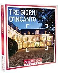 SMARTBOX - Cofanetto Regalo - Tre giorni d'incanto - 56 soggiorni con due cene in castelli, hotel 4* e 5* e dimore raffinate