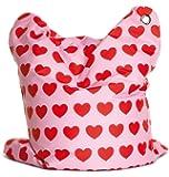 Sitting Bull 634006 Sitzsack Fashion Mini Bull / 130 x 90 cm / Heartbeat