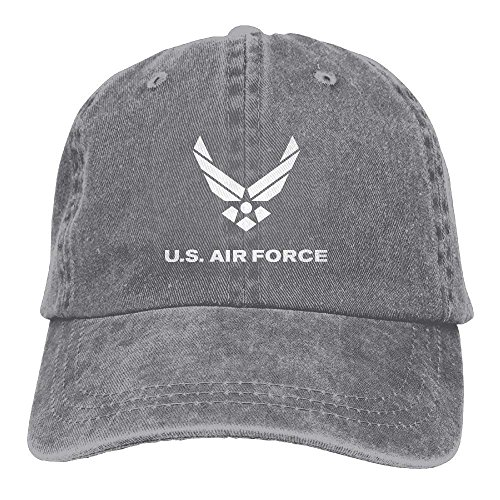 e7fe5312a348b Nifdhkw US Air Force Vintage Washed Dyed Cotton Vaquero Ajustable Cowboy Cap  Multicolor20