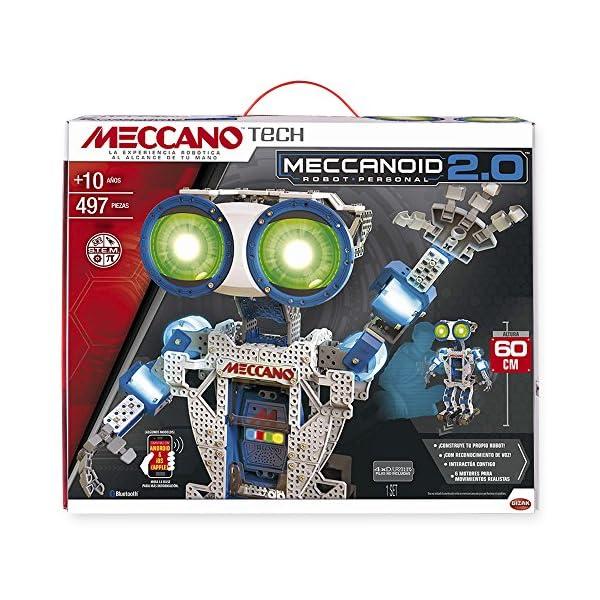 61EtPgfZtCL. SS600  - Meccano - Robot Meccanoid G16