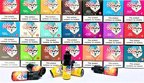 COOL DOG 3 X 10ML ARABIAN GRAPES 0MG VG80 PG20 Premium E Liquids E Juice Vape Liquid No Nicotine Shisha Flavour for Vaping Pens Mods E Cigs (COOL DOG)