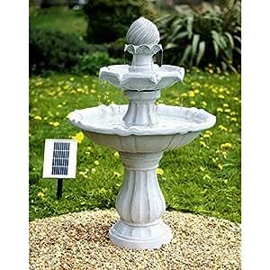 Fontana Solare Rotonda A Due Livelli Imperial