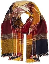 Pepe Jeans Damen Schal Lillia Blanket Mehrfarbig (Multi), One size (Herstellergröße: 000)