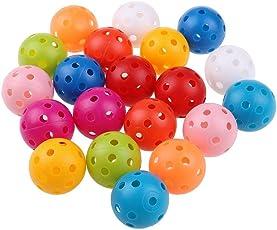 Suxidi 20pezzi 41mm Colore misto plastica Airflow pratica Golf Ball