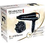 Remington Sèche-Cheveux 2200W Ionique, Sublime la Brillance des Cheveux Naturels et Colorés - D6098 Eclat Brillance