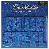 Dean Markley 2550 Jeu de cordes pour guitare électrique Bluesteel XL 08-11-14-22-30-38