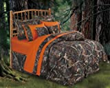 Oak Camo Comforter Set, Twin