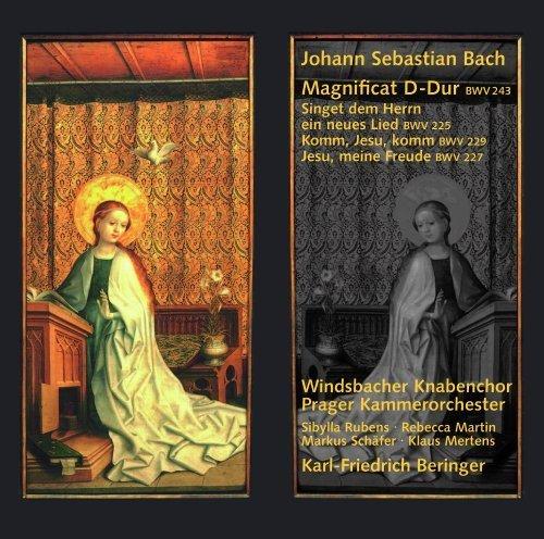 Bach: Magnificat; Singet dem Herrn ein neues Lied; Komm, Jesu, komm by Klaus Mertens, Rebecca Martin, Friedemann Winklhofer, Sibylla Rubens, Markus Sch (2007-05-29)