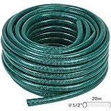 Jago – Tuyau d'Arrosage Flexible en PVC (Diamètre 1.6 cm, Longueur 20 m)