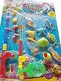 Super Angelfischset, Spielzeug für Kinder, Super Spaß für Stand oder Badewanne Ideal!!
