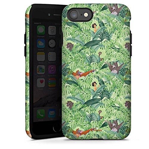 Apple iPhone X Silikon Hülle Case Schutzhülle Dschungelbuch Muster Disney Tough Case glänzend
