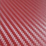 3D Karbonfaser Vinyl Film Tabelle Rolle Auto DIY Decor Aufkleber Auto Styling Wasserdicht Aufkleber Autoaufkleber 3D Carbon Fiber Vinyl Film Auto Wickeln DIY Auto Sticker Tuning Teil 127 cm * 50 cm (Weinrot)