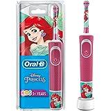 Oral-B Kids Oplaadbare Elektrische Tandenborstel Powered By Braun, 1 Handvat Met Disney Princess, Voor Kinderen Vanaf 3 Jaar