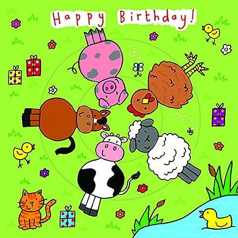 twizler Spinning Bambini Compleanno, Compleanno per bambini con animali della fattoria