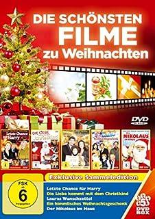 Die Schönsten Filme zu Weihnachten - 5 DVDs: Letzte Chance für Harry, Die Liebe kommt mit dem Christkind, Lauras Wunschzettel,