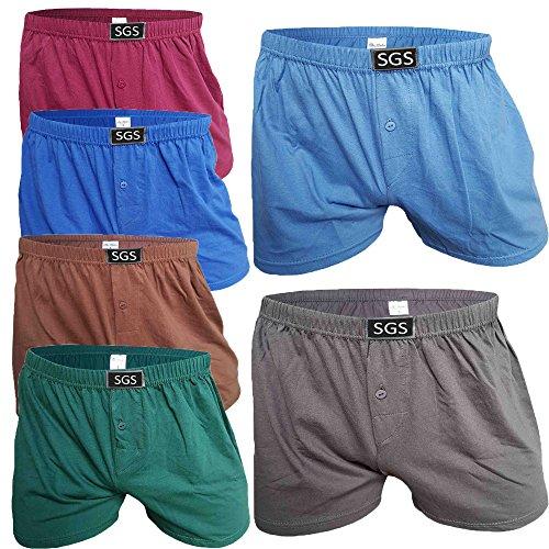 SGS 6-10 Pack Unterhosen Mann Herren Unterhosen Boxershorts Men (6.Stück, 8/XL) -