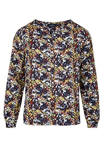 Bluse mit grafischem Muster Light Rose