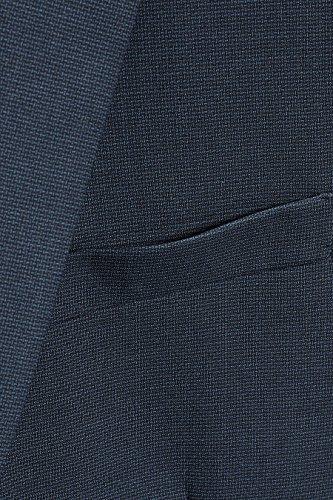 next Veste de costume texturée coupe slim Coupe Slim Homme Bleu