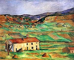Le musée Outlet à Gardanne Par Cezanne -, Poster, Affiche (61 cm x 45,7 cm)