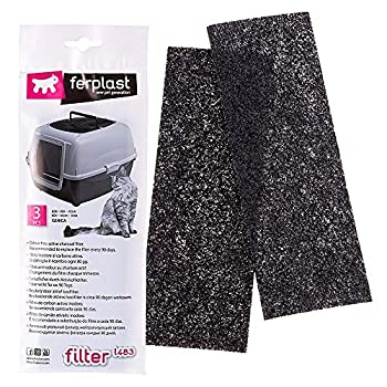 Ferplast L483 Filtre pour Maison Toilette (x3 filtres )