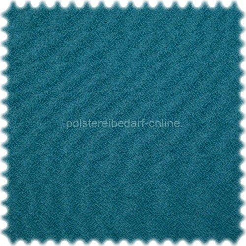 polstereibedarf-online Objekt Möbelstoff Crêpe Türkis 170 cm Breit EN 1021