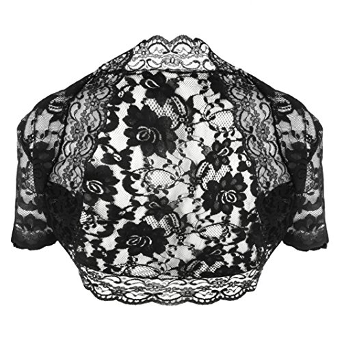 Grace-and-Flair-Lace-Bolero-Short-Sleeve