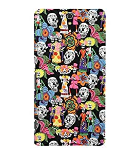 Sony Xperia C5 MULTICOLOR PRINTED BACK COVER FROM GADGET LOOKS
