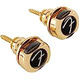"Fender©""Infinity"" Strap Locks - 360° Rotation - Or"