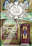 Adult Coloring Book: Nice Little Town: Volume 1