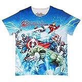 #6: Marvel Avengers Blue Polyester T-Shirt For Boys DMA0006