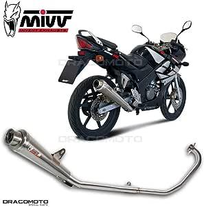 Mivv Sport X Cone Edelstahl Komplettanlage 1 In 1 Für Honda Cbr 125 R Bj Ab 2004 Eg Abe Auto