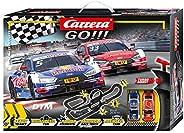 Carrera GO!!! DTM Master Class tävlingsbana set   8,9 m elektrisk racerbana med Ekströms & Rasts Audi RS 5