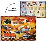 Unbekannt Wende - Schreibtischunterlage -  Disney Planes / Flugzeug Dusty  - 55 cm * 3..