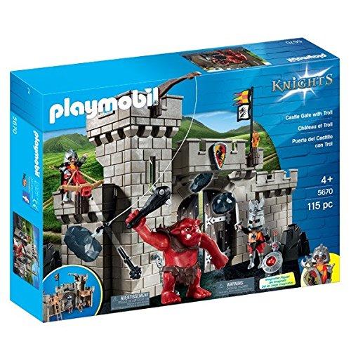 Playmobil Caballeros 5670 Playset Puerta Castillo