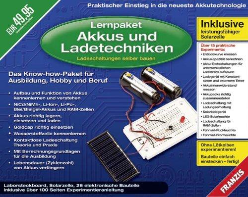 Lernpaket Akkus und Ladetechniken