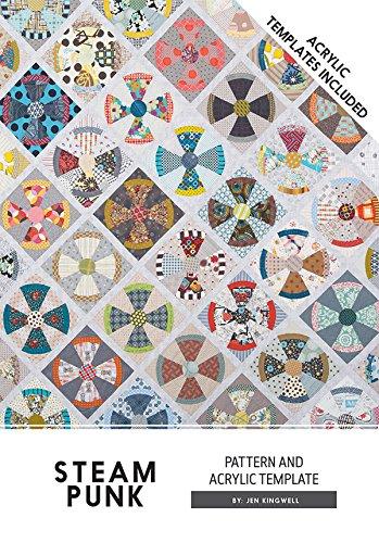 Steam Punk Steampunk Jen Kingwell Designs Quilt Muster mit Acryl Vorlagen (Acryl-quilt-vorlagen)