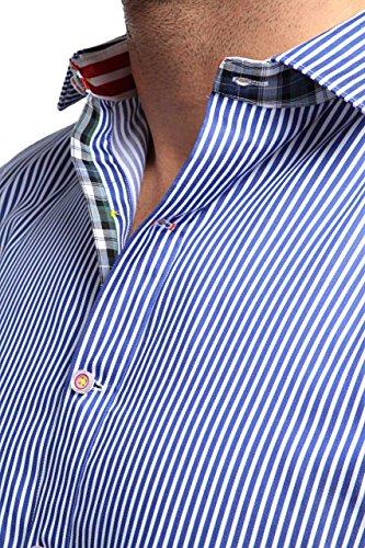 Robert Graham X-Collection Herren Hemd X-Collection EXCALIBUR Blau