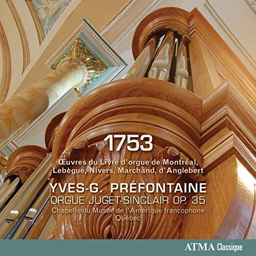 Preisvergleich Produktbild 1753-Oeuvres Du Livre D'orgue De Montral, Lebeg